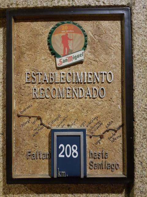 208 km desde Ponferrada a Santiago