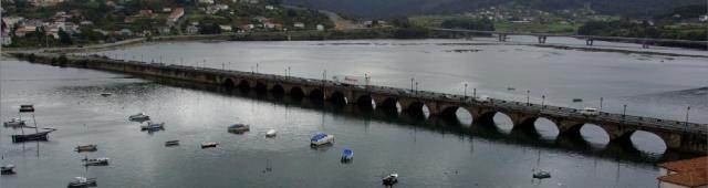 A ponte sobre o Eume foi unha infraestructura de grande relevancia desde o Medievo