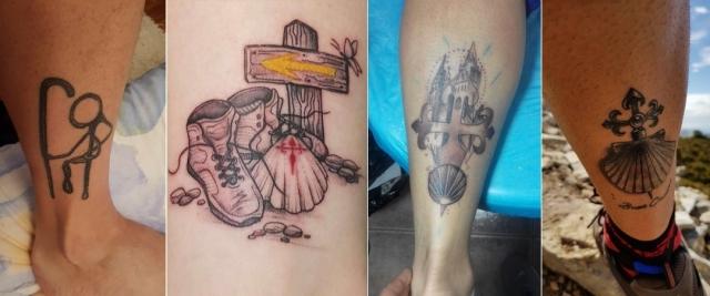 Los Tatuajes Del Camino De Santiago Más Originales Vivecamino