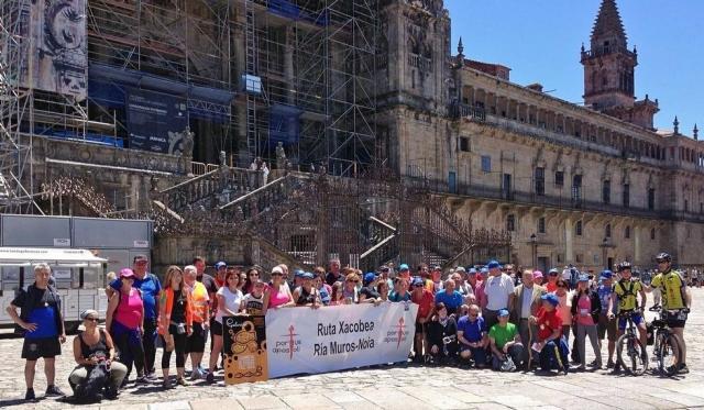 Amigos do Camiño de Santiago por Muros-Noia en Santiago