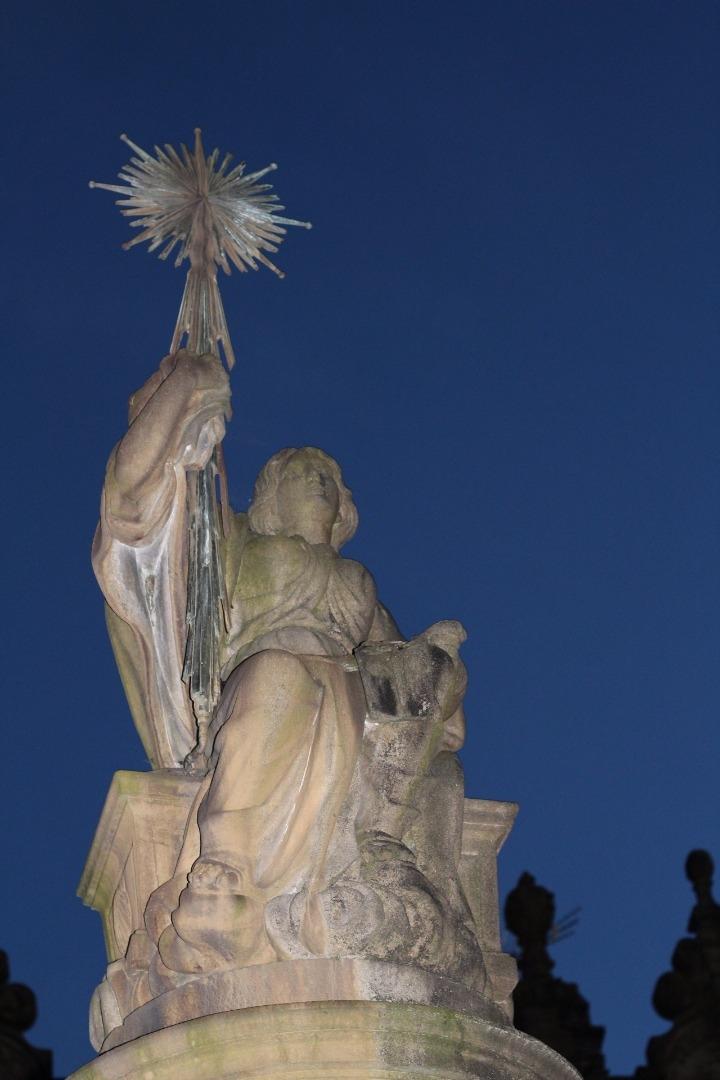 Angel en Compostella
