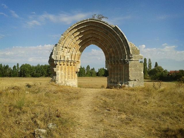 Arco de San Miguel de Mazarreros /wikipedia commons