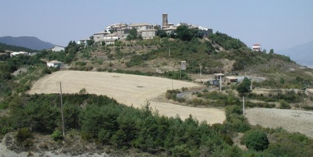 Artieda town - Camino Aragonés
