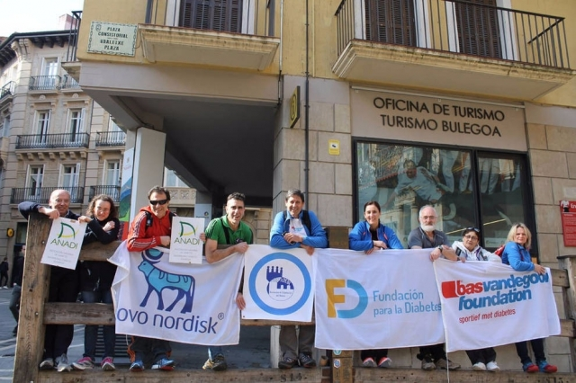 'Camina por la Diabetes a Santiago': mejorando en calidad de vida recorriendo la ruta jacobea