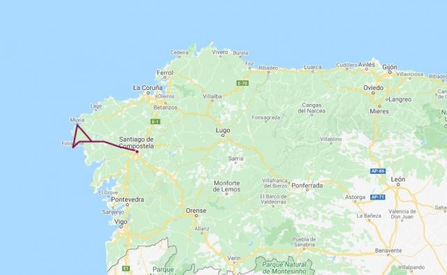 Camino de Finisterre y Muxía