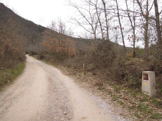 Camino de Invierno a su paso por Las Médulas (Marzo 2016)