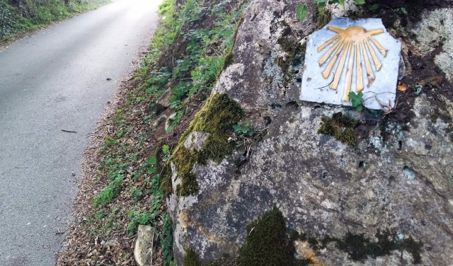Camino de Santiago a su paso por Oviedo
