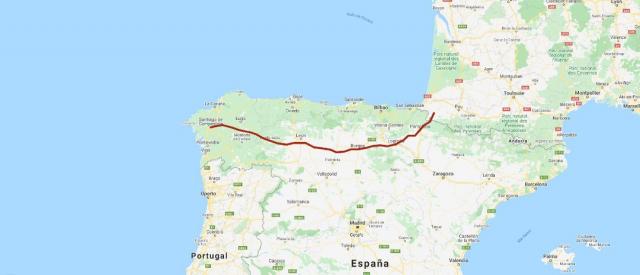 Camino Francés - My Maps Vive Camino