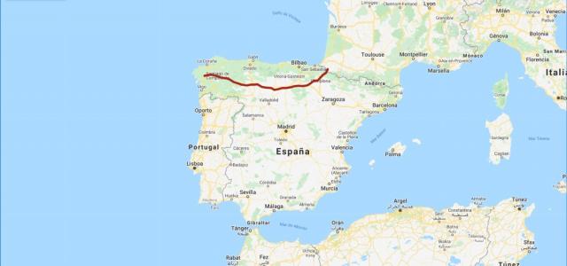 Camino Francés - My Maps