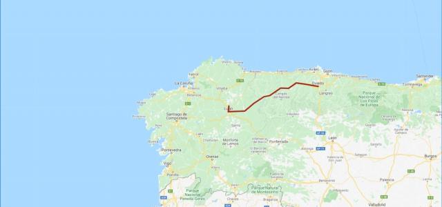 Camino Primitivo - My Maps