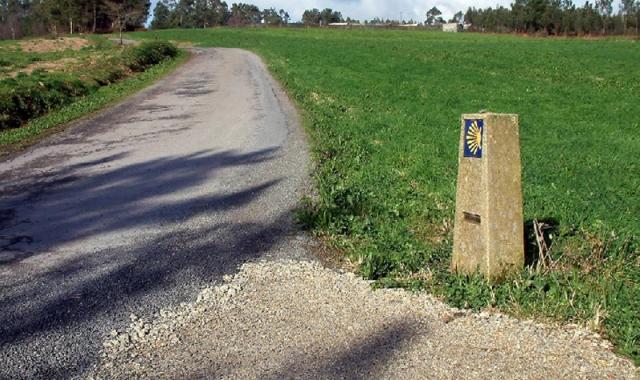 Caminos solitarios conducen al peregrino hasta Bruma
