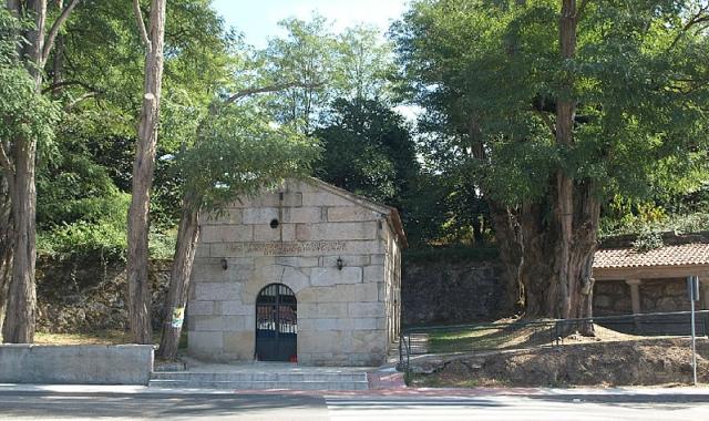 Capela das Angustias, en el Camino a su paso por O Porriño