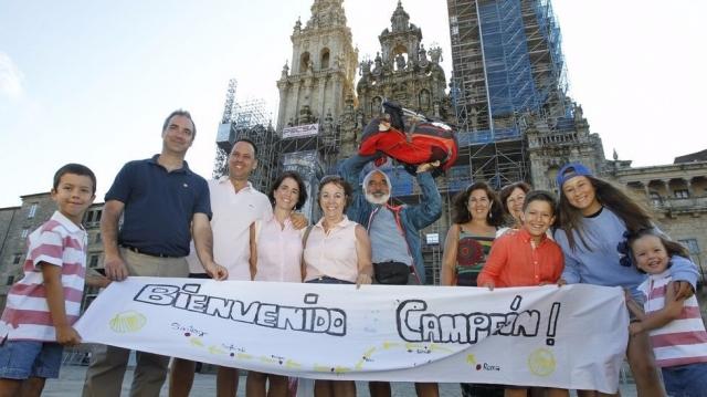 Carlos Ávila y su familia - XOÁN A. SOLER