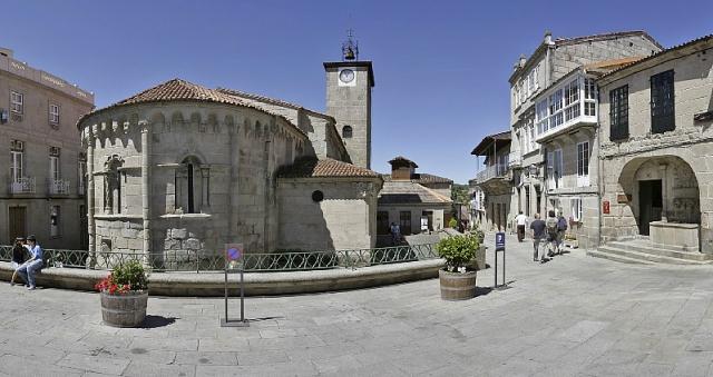 Casco histórico de Allariz / Fotografía de Santi M. Amil