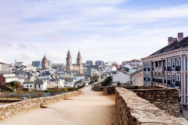 Casco histórico de Lugo - percds/iStock