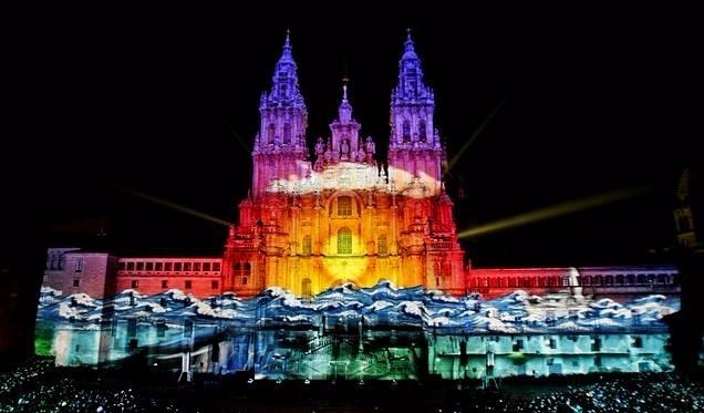 Catedral el día de Galicia