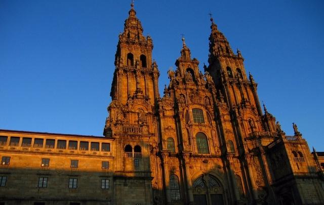 Catedral Santiago de Compostela.Wikimedia Commons