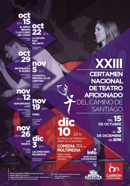Certamen Nacional de Teatro Aficionado del Camino de Santiago