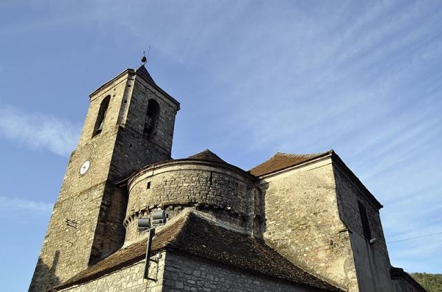 Church San Martin de Hecho