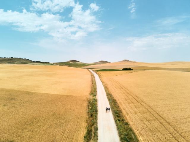 Consejos para protegerse del calor en el Camino de Santiago