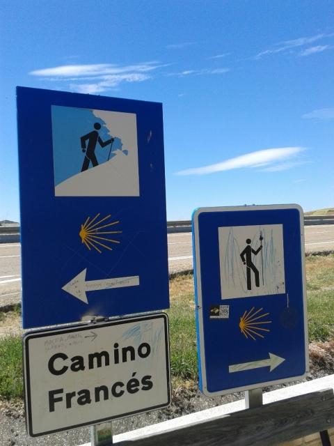 Derribando el mito de que el Camino Francés es el mejor señalizado (???)