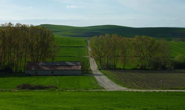 El Camino Francés se aproxima al límite con Castilla