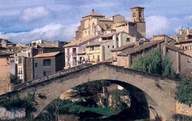 El puente picudo de Estella