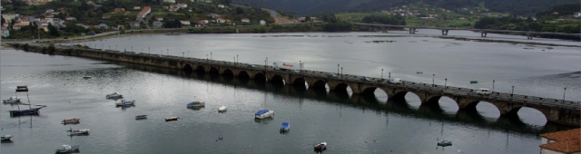 El puente sobre el Eume fue una infraestructura de gran relevancia desde el medievo