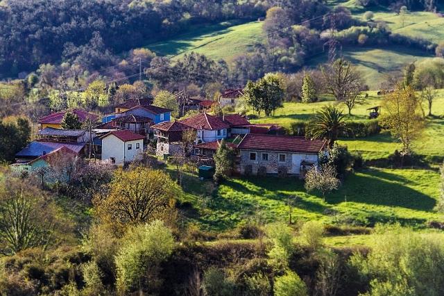 Etapa Salas - Tineo. Paisaje asturiano