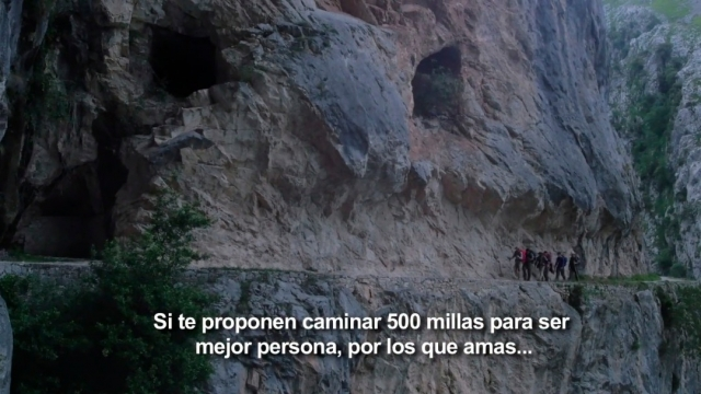 Extracto de la película de Footprints