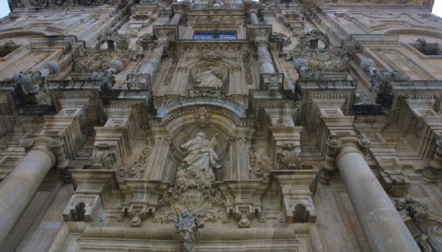 Fachada de la iglesia de Santa María