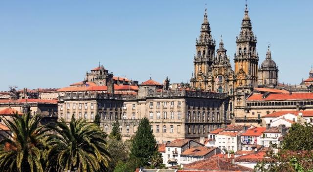 Fachada del Obradoiro, Santiago de Compostela