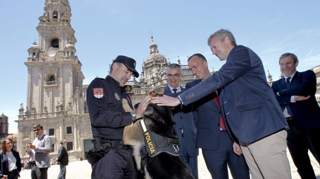 Francisco Martínez, Santiago Villanueva e Alfonso Rueda - SANDRA ALONSO