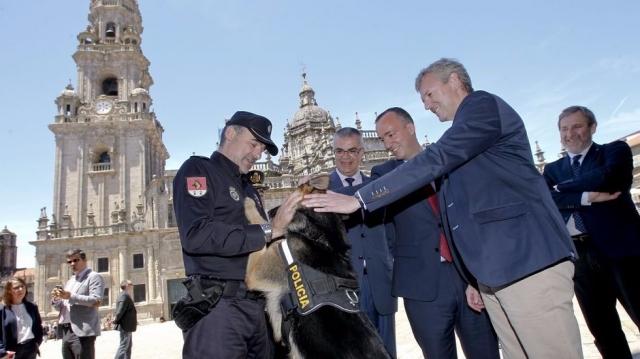Francisco Martínez, Santiago Villanueva y Alfonso Rueda - SANDRA ALONSO