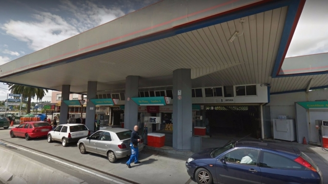Gasolinera de Pontedeume