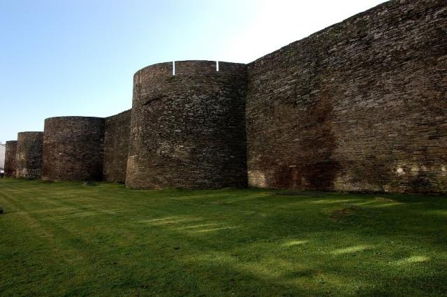 Gran muralla romana de Lugo