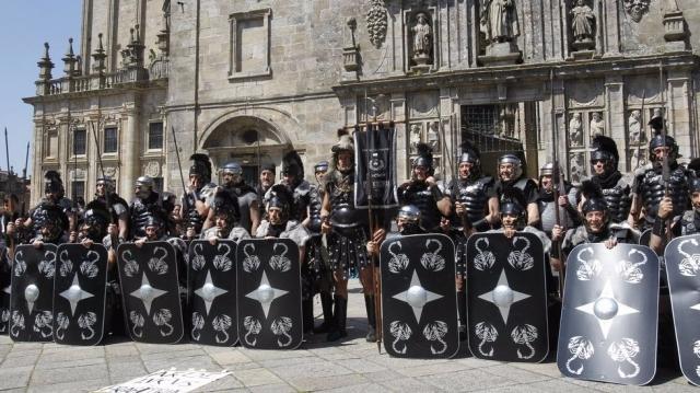 Grupo de pretorianos - XOÁN A. SOLER