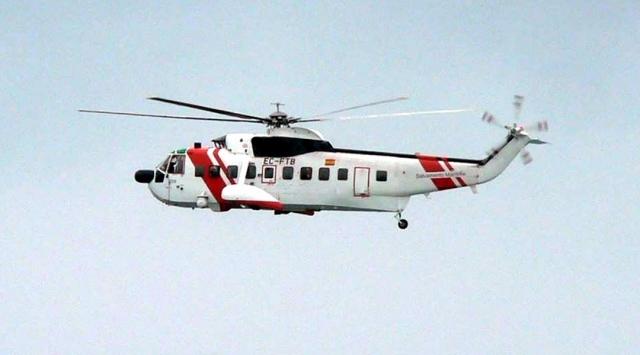 Helicóptero de Salvamento Marítimo avistado en la zona del cabo de Finisterre