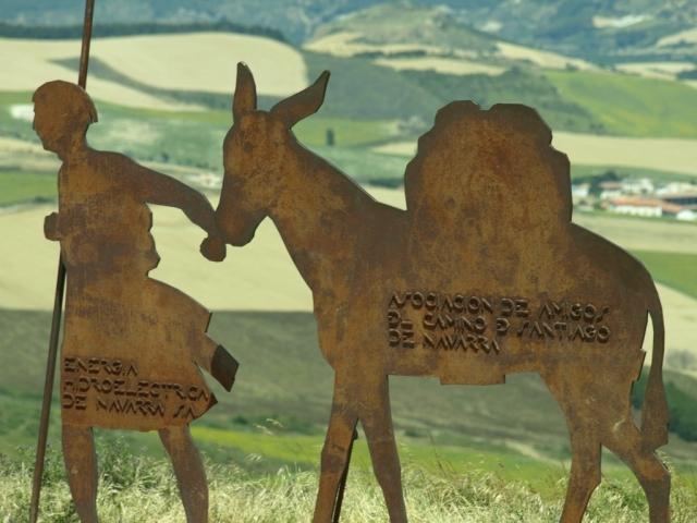 Homenaje al Camino de Santiago