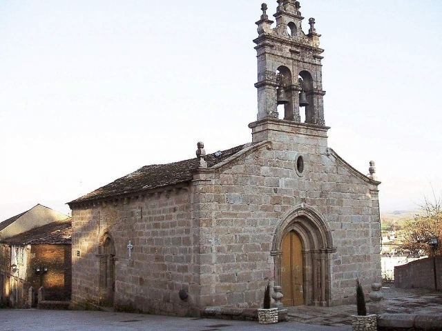 Iglesia de San Salvador de Sarria | Wikimedia Commons