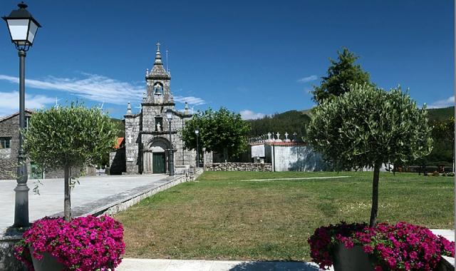 Iglesia de Santa Baia de Dumbría / Fotografía de Ana García