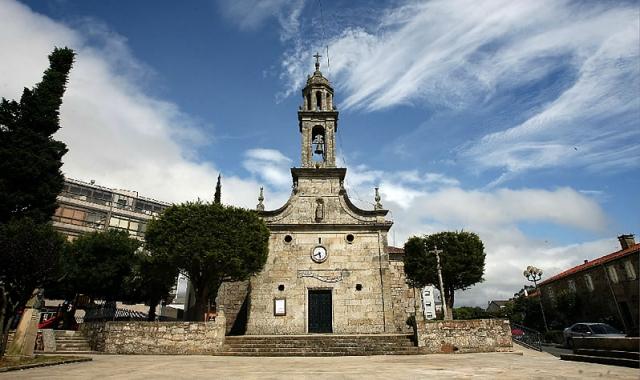 Iglesia de Silleda / Fotografía de Marcos Míguez