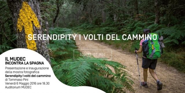 Imagen promocional de la muestra sobre el Camino de Santiago