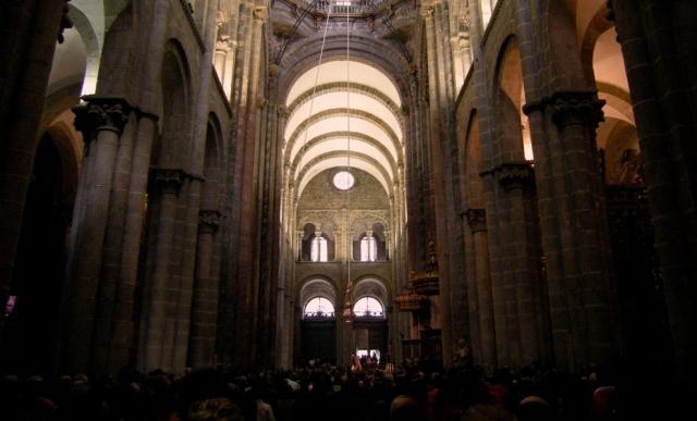 Interior de la Catedral de Santiago