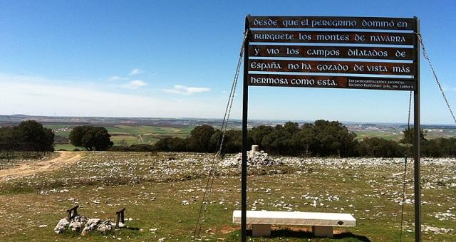 La ruta francesa comienza a divisar Burgos