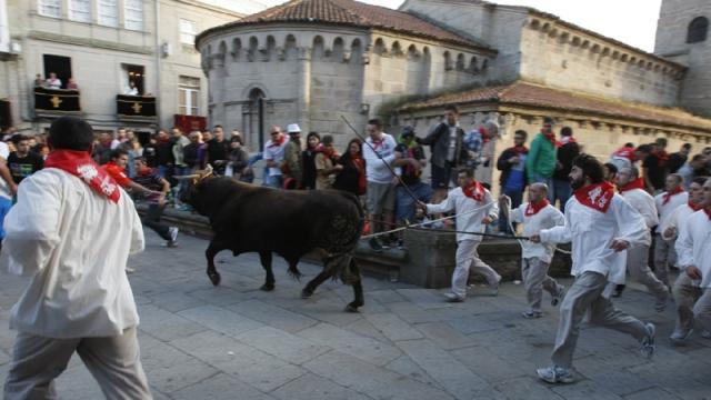 La tradicional Festa do Boi se recuperó en 1983. Fotografía: Santi M. Amil