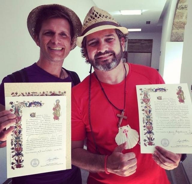 Las compostelas de Francisco Casals y Germán Ruiz