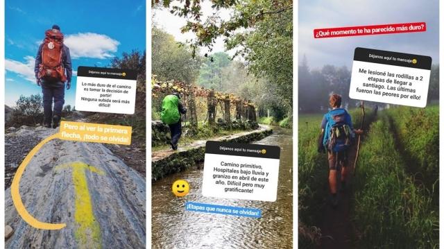 Las experiencias en el Camino de Santiago