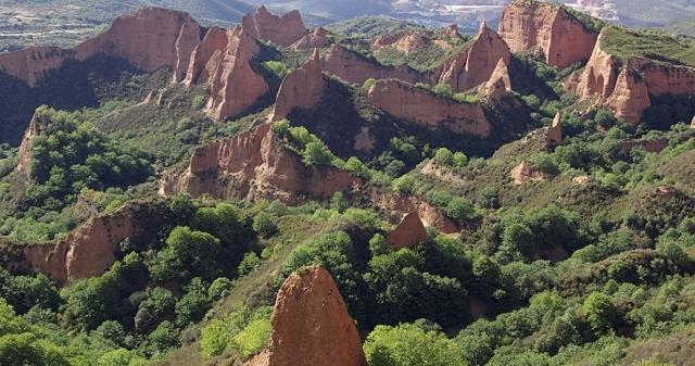 Las Médulas. Comarca de El Bierzo (León)