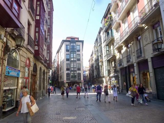 Las Siete Calles (casco viejo de Bilbao) | Wikimedia Commons